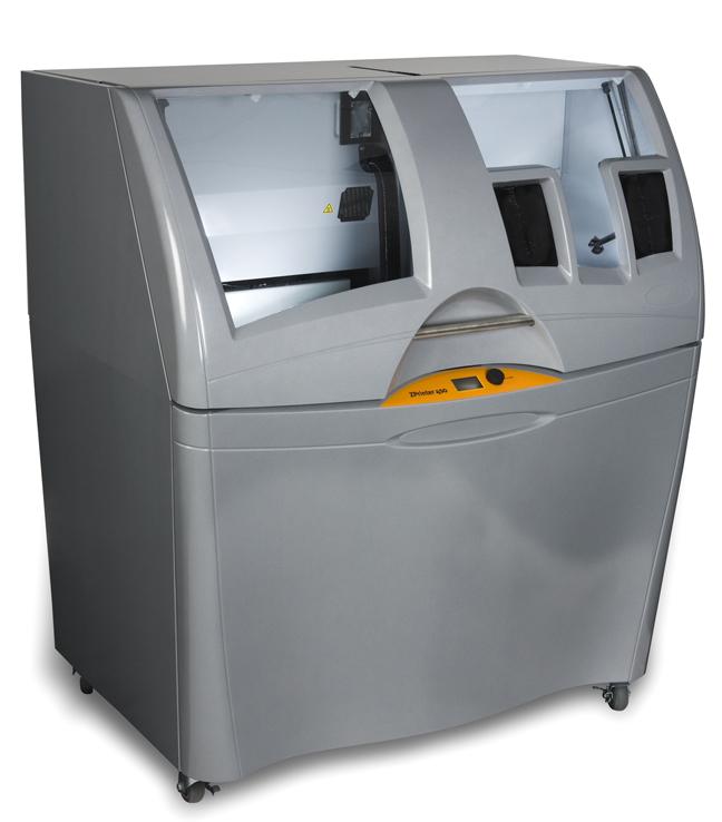 Z Corp ZPrinter 450 parts and printer